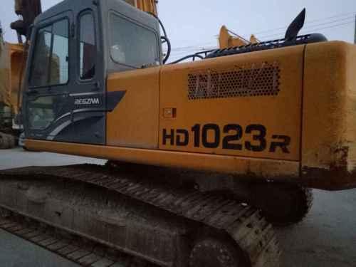陕西出售转让二手550小时2015年加藤HD1023R挖掘机