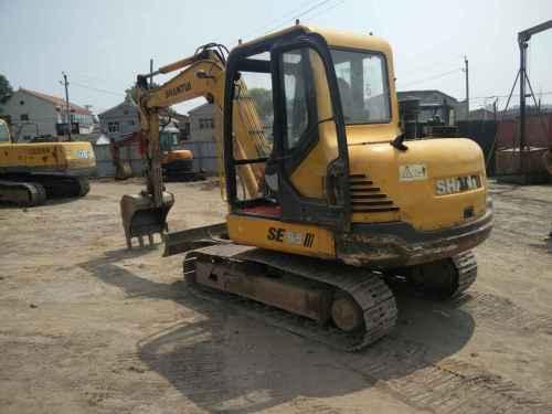山西出售转让二手7000小时2010年山推SE60挖掘机
