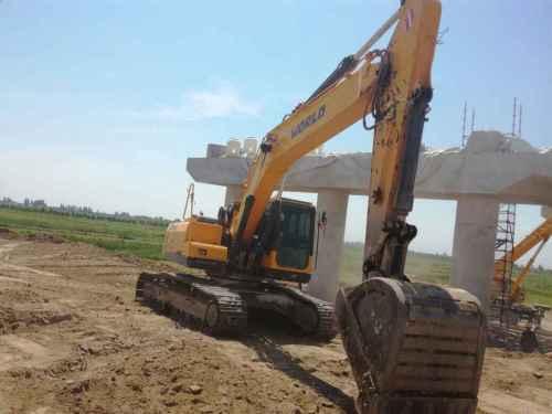 宁夏出售转让二手4800小时2015年沃得重工W2245挖掘机