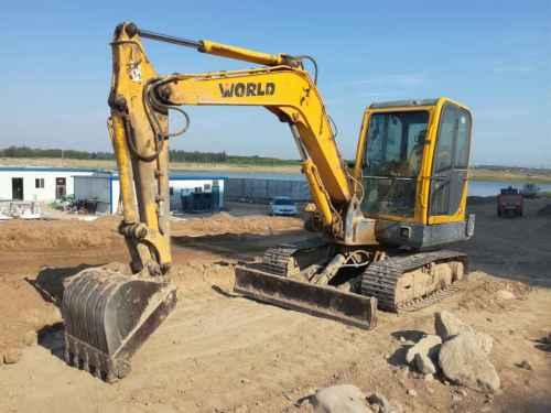 宁夏出售转让二手6900小时2011年沃得重工W260挖掘机