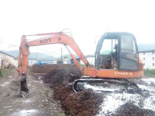 山西出售转让二手3000小时2014年奥泰重工60挖掘机