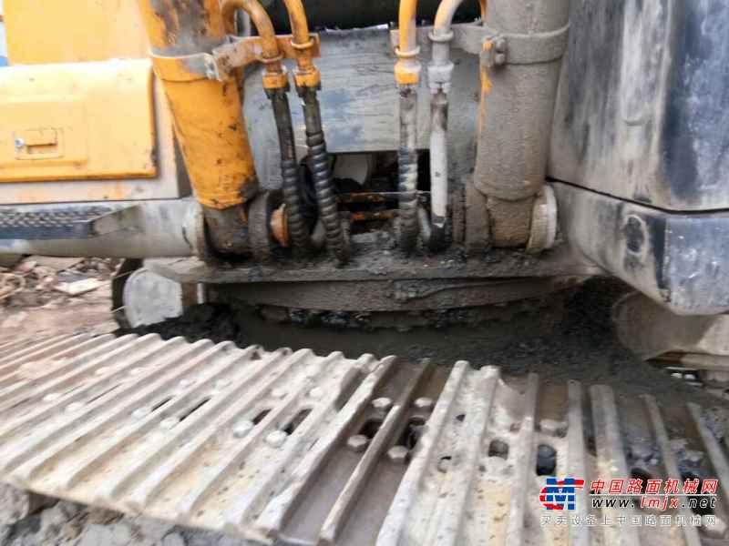 甘肃出售转让二手8000小时2009年现代R305LC挖掘机
