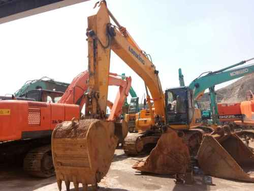 甘肃出售转让二手9000小时2010年龙工LG6225挖掘机