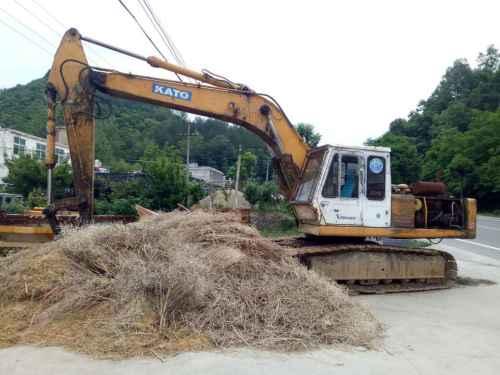 陕西出售转让二手15000小时2003年加藤HD800VII挖掘机