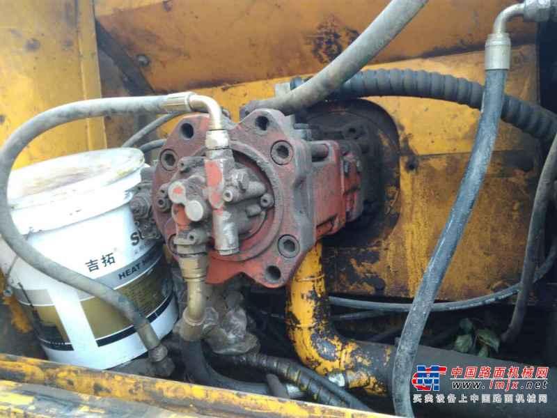 内蒙古出售转让二手15000小时2007年现代R225LC挖掘机