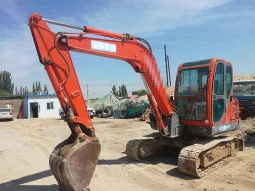 宁夏出售转让二手9000小时2008年玉柴YC60挖掘机