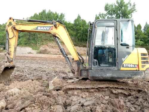 四川出售转让二手6233小时2013年三一重工SY60C挖掘机