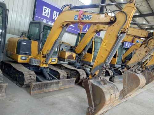 宁夏出售转让二手4000小时2014年徐工XE60CA挖掘机