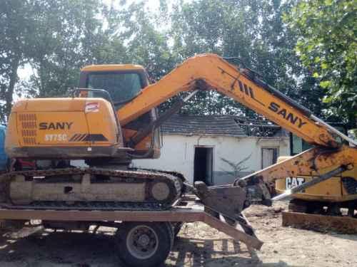 安徽出售转让二手5000小时2012年三一重工SY65C挖掘机