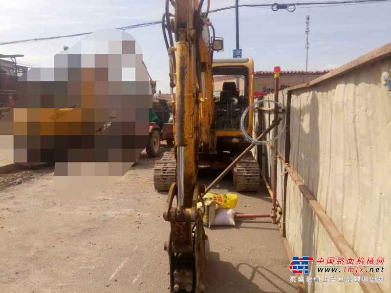 内蒙古出售转让二手11000小时2009年玉柴YC60挖掘机