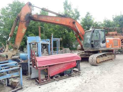 陕西出售转让二手8000小时2008年日立ZX240挖掘机