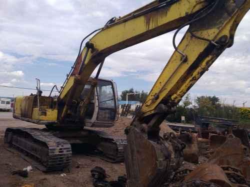 内蒙古出售转让二手20000小时2003年住友SH200A2挖掘机