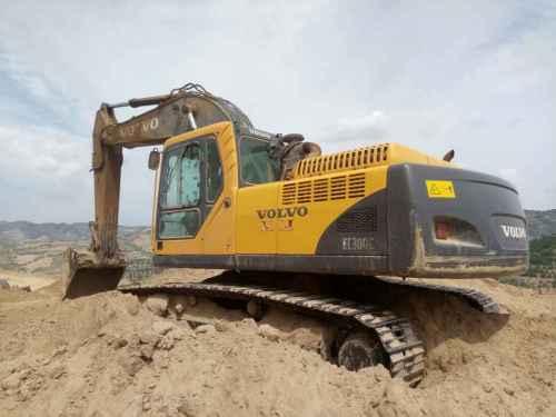 山西出售转让二手10000小时2008年沃尔沃EC290BLC挖掘机