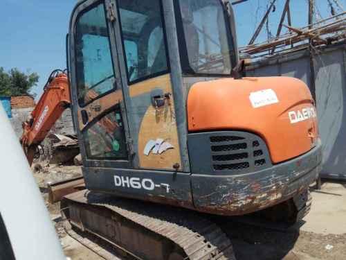 山东出售转让二手11000小时2007年斗山DH60挖掘机