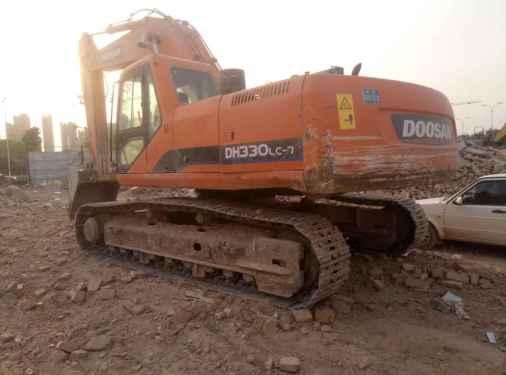山西出售转让二手5660小时2011年斗山DH300挖掘机