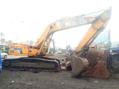 黑龙江出售转让二手20000小时2003年现代R200挖掘机