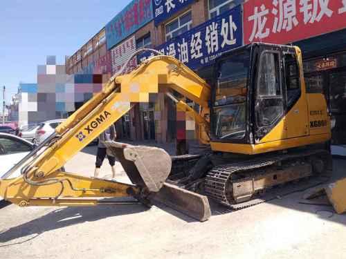 内蒙古出售转让二手6000小时2012年厦工XG808挖掘机