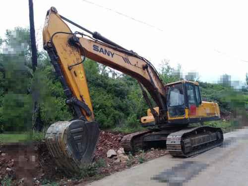 山西出售转让二手15000小时2011年三一重工SY285C挖掘机