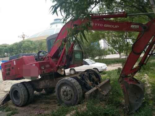 甘肃出售转让二手8000小时2009年东方红WLY100挖掘机