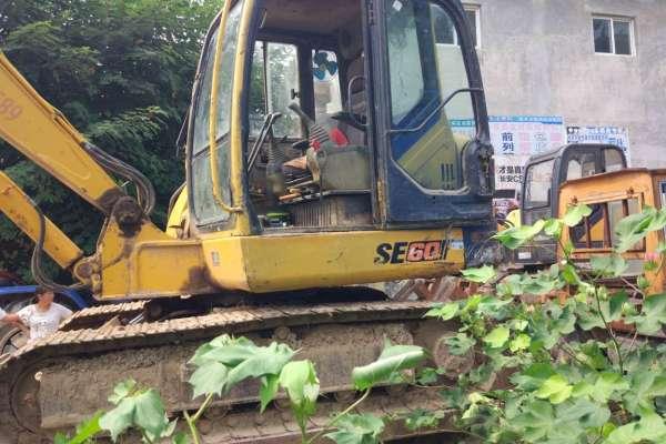 山东出售转让二手12000小时2010年山推SE60挖掘机