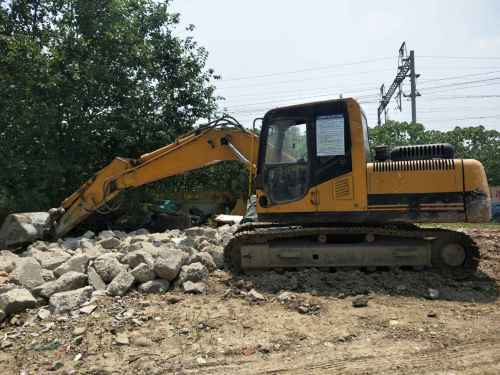 四川出售转让二手7595小时2012年晋工JGM915挖掘机