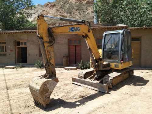 甘肃出售转让二手4000小时2012年徐工XE60挖掘机
