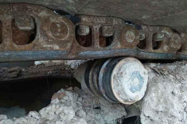 河南出售转让二手15400小时2009年斗山DH220LC挖掘机