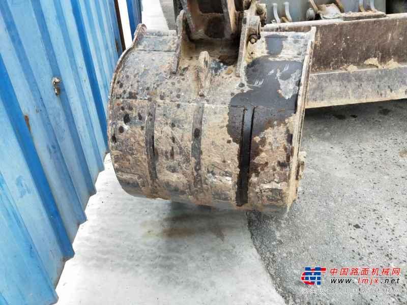山西出售转让二手2000小时2014年新源机械轮挖65W挖掘机