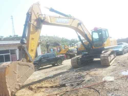 山西出售转让二手500小时2015年恒岳重工365挖掘机