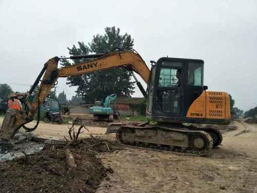 湖北出售转让二手4980小时2011年三一重工SY75C挖掘机