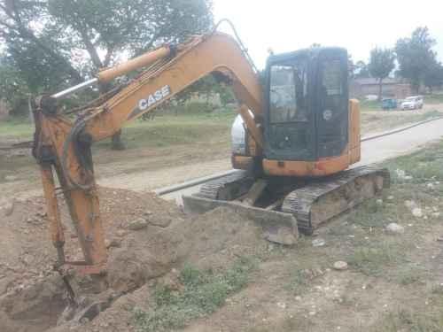 山西出售转让二手8000小时2009年凯斯CX80挖掘机