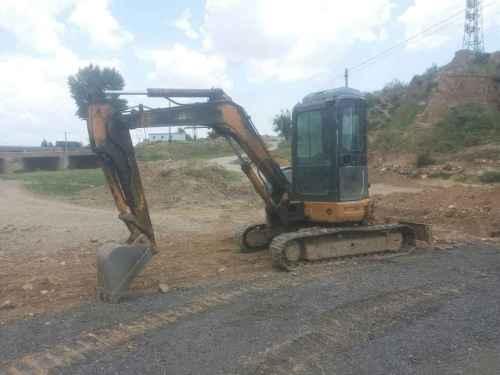 山西出售转让二手8000小时2008年凯斯CX55B挖掘机