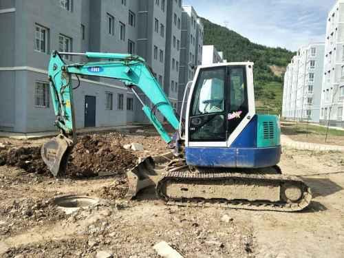 甘肃出售转让二手3500小时2011年石川岛80NX3挖掘机