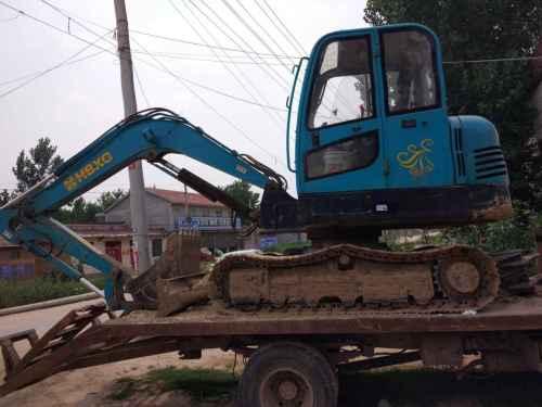 山东出售转让二手4000小时2011年宣工SR060挖掘机
