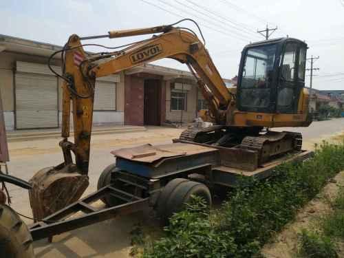 山东出售转让二手8000小时2009年福田雷沃FR60挖掘机