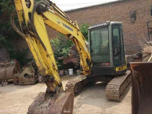 陕西出售转让二手7000小时2009年洋马Vio55挖掘机