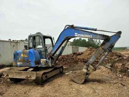 安徽出售转让二手7000小时2013年山重建机GC60挖掘机