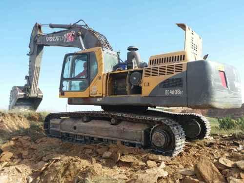 内蒙古出售转让二手25000小时2011年沃尔沃EC460BLC挖掘机