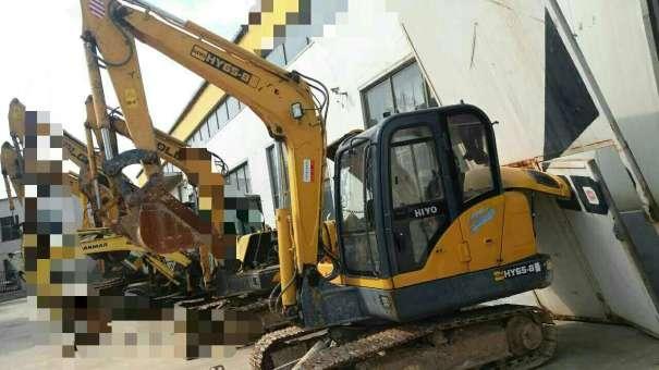 河北出售转让二手3000小时2014年恒岳重工HY65挖掘机