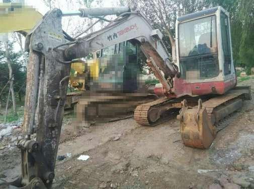 辽宁出售转让二手8000小时2007年竹内TB150C挖掘机