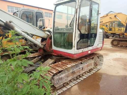 辽宁出售转让二手9990小时2009年竹内TB175C挖掘机