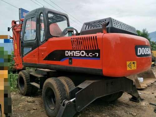 云南出售转让二手7488小时2009年福临机械WY125D挖掘机