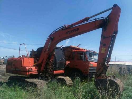 黑龙江出售转让二手7000小时2009年恒特重工HT150挖掘机