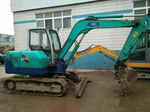 山东出售转让二手13400小时2008年石川岛IHI60NS挖掘机