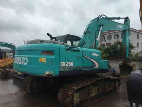 四川出售转让二手6000小时2011年神钢SK250挖掘机