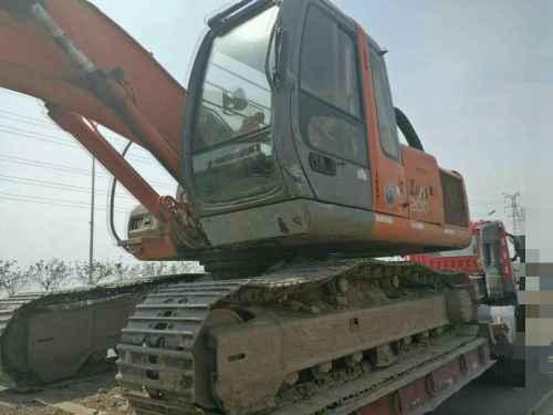 河北出售转让二手17500小时2004年日立ZX200挖掘机