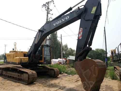 辽宁出售转让二手10000小时2008年沃尔沃EC240BLC挖掘机