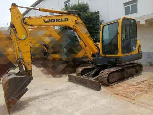 安徽出售转让二手5099小时2013年沃得重工W265挖掘机
