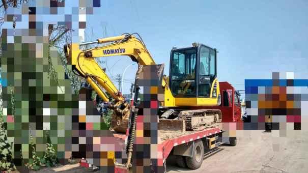 河北出售转让二手2300小时2013年小松PC56挖掘机