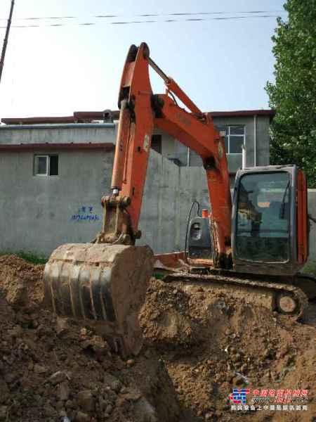 山东出售转让二手8000小时2011年日立ZX60挖掘机